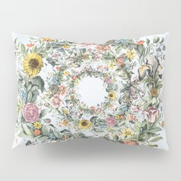 Circle of Life in  Blue Pillow Sham