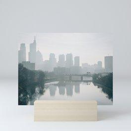 Schuylkill Silhouettes Mini Art Print