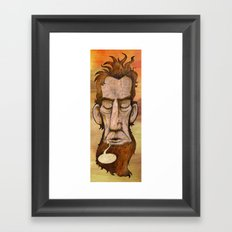 Lincoln's Last Words Framed Art Print