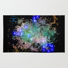 The Zodiac Sign -- Pisces Rug