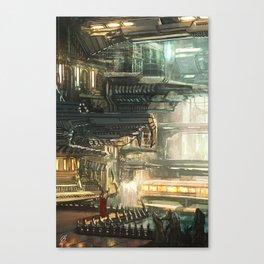 Underground Dystopia Canvas Print