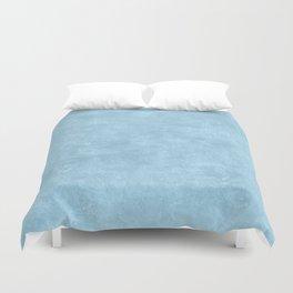 Aquamarine Oil Pastel Color Accent Duvet Cover