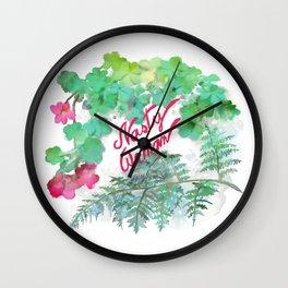 Nasty Woman Wall Clock