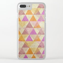 Pyramides Clear iPhone Case