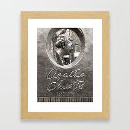 Agatha Christie Monument Framed Art Print