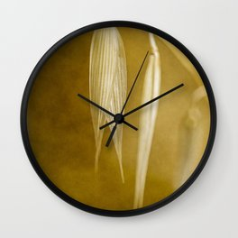 meadow banners #4 Wall Clock