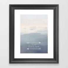 Together we can move mountains Framed Art Print