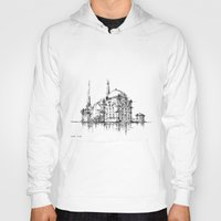 islam Hoodies featuring Dolmabahce Mosque by Nikoloz Lekveishvili