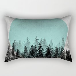 Woods 3 Rectangular Pillow