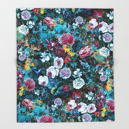 Night Garden Rc Throw Blanket