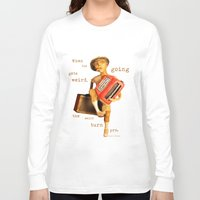 hunter s thompson Long Sleeve T-shirts featuring Hunter S. Thompson by SwampFox Studio