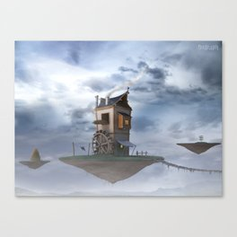 The Flying Watermill Canvas Print