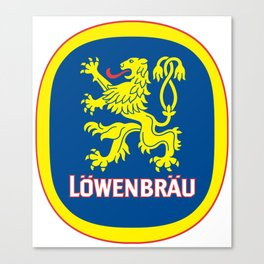 LOWENBRAU Canvas Print