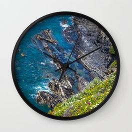 Costa Vicentina, Alentejo, Portugal Wall Clock