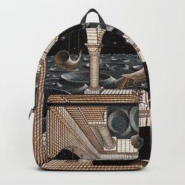 Escher - Another World II Backpack