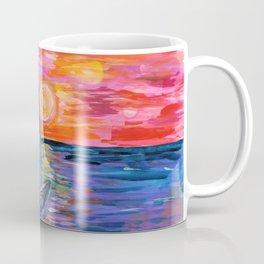 Sail at Dusk Coffee Mug