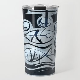 Five breads and two fish Travel Mug
