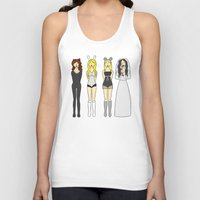 mean girls Tank Tops featuring Mean Girls Halloween by CozyReverie