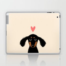 Dachshund Love Laptop & iPad Skin
