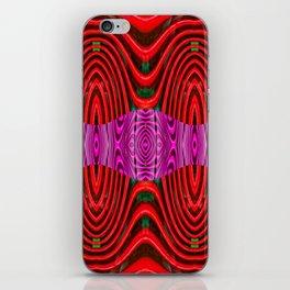 Plastic play iPhone Skin