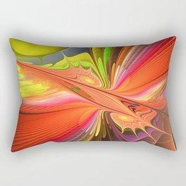 Fire dance Rectangular Pillow