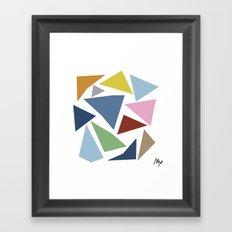 Abstraction #4 Framed Art Print