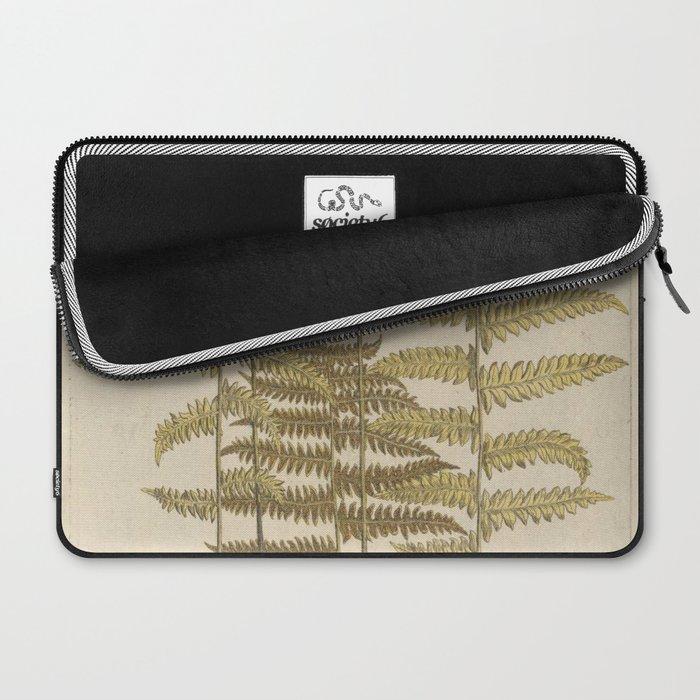 Vintage Fern Botanical Laptop Sleeve