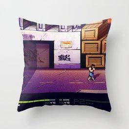 Doble Dragon 2 Throw Pillow
