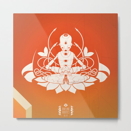 Opening the higher state of consciousness Metal Print