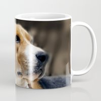 beagle Mugs featuring Beagle by Artistically Home