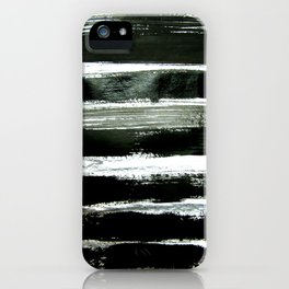 black strokes iPhone Case