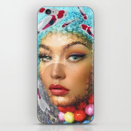 WomanFish iPhone Skin
