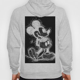 Mickey Mouse inverted Scribble Hoody
