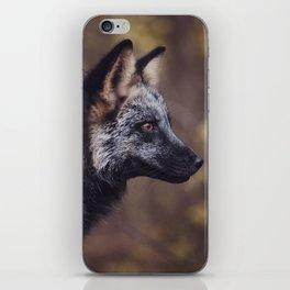 Cross Fox iPhone Skin