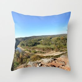 Sparrowhawk Mountain Series, No. 10 Throw Pillow