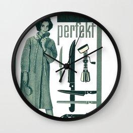 Goth perfekt Wall Clock