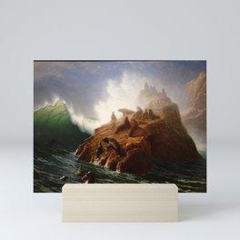 Albert Bierstadt - Seal Rock (1880s) Mini Art Print