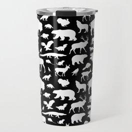 North American Fauna Travel Mug