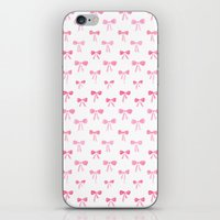 bows iPhone & iPod Skins featuring Bows by Happiness is... illustration & design