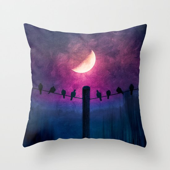 Throw Pillow Options : Symphony (colour option) Throw Pillow by Viviana Gonzalez Society6