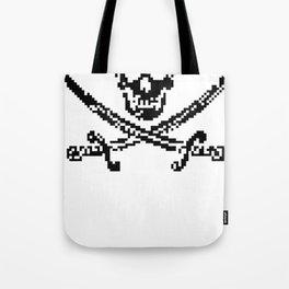 8bit piracy  Tote Bag