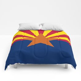 Arizona State Flag Comforters