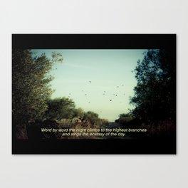 Imaginary Film Stills - Heartland Canvas Print
