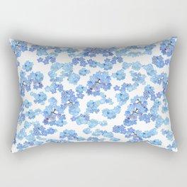 Forget me not I Rectangular Pillow