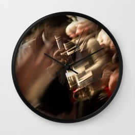 Jazz musician trumpet player Wall Clock