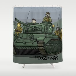The Dogs of War: Comet Shower Curtain