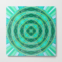 284 - Orb design Metal Print