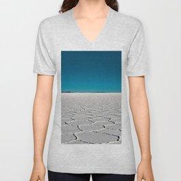 Salt Flats of Salar de Uyuni, Bolivia #2 Unisex V-Neck