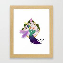 Toothiana Circlet Framed Art Print