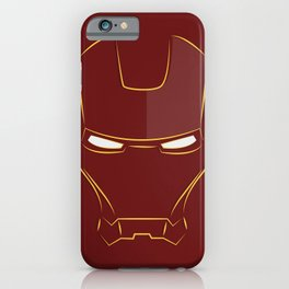 iron man face iPhone Case